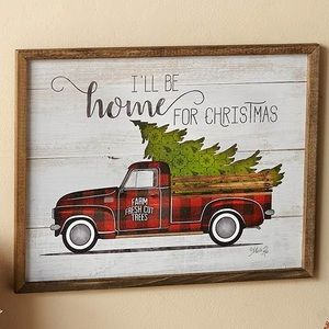 Farmhouse Christmas Wood Wall Decor
